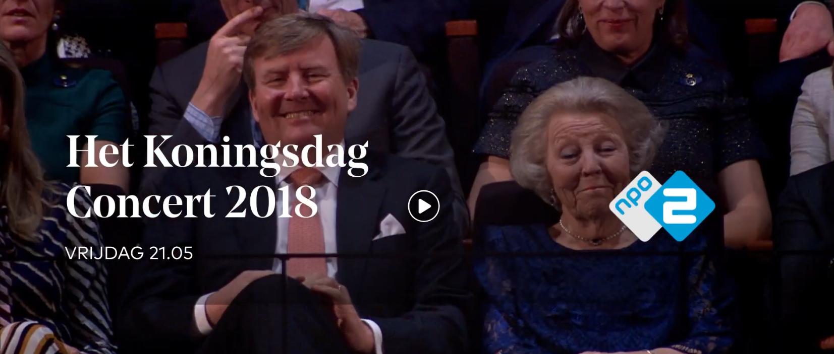 Het Koningsdagconcert 2018