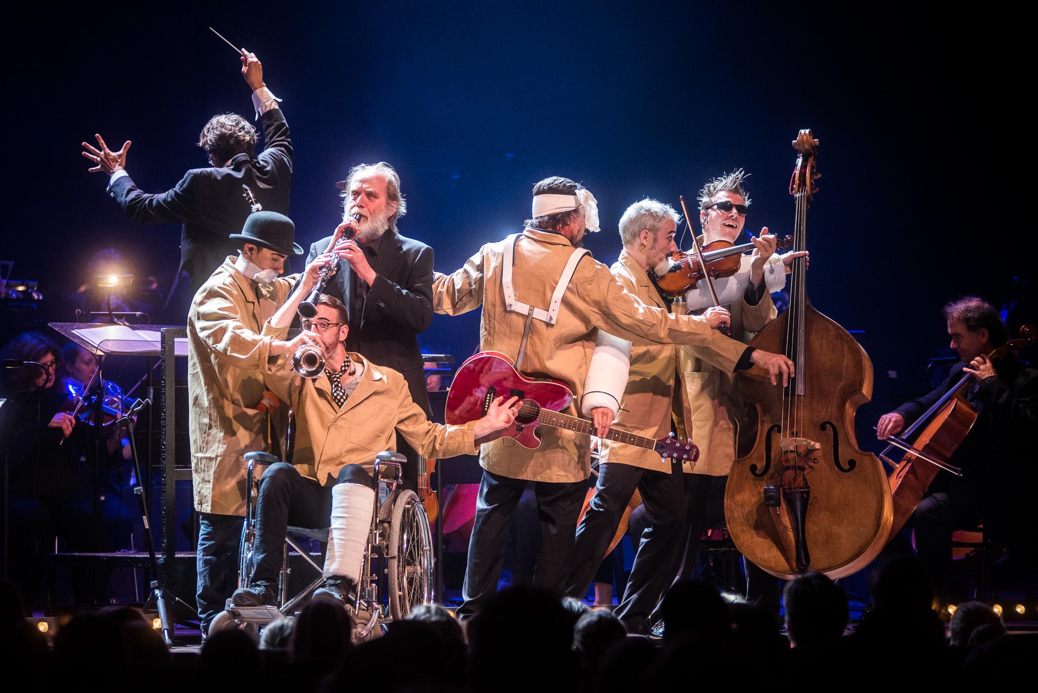 Pieter Roelf Jeugdconcert 2018: Noord Nederlands Orkest & Wëreldbänd